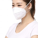 kN95 non-woven dust mask breathing disposable respirator mask factory direct